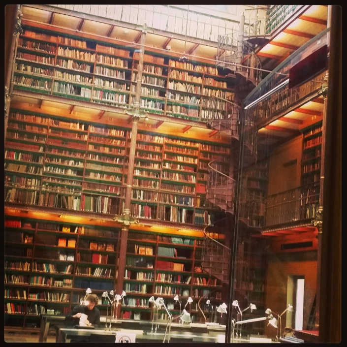 Library of the Rijksmuseum. Books make me happy.