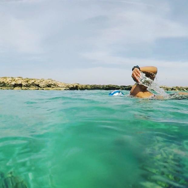 zwemfoto cyprus